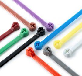Tien Ty-Rap® kunststof kabelbinders in verschillende kleuren.